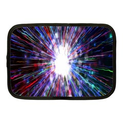 Seamless Animation Of Abstract Colorful Laser Light And Fireworks Rainbow Netbook Case (medium)