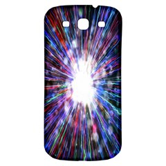 Seamless Animation Of Abstract Colorful Laser Light And Fireworks Rainbow Samsung Galaxy S3 S Iii Classic Hardshell Back Case