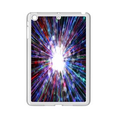 Seamless Animation Of Abstract Colorful Laser Light And Fireworks Rainbow Ipad Mini 2 Enamel Coated Cases