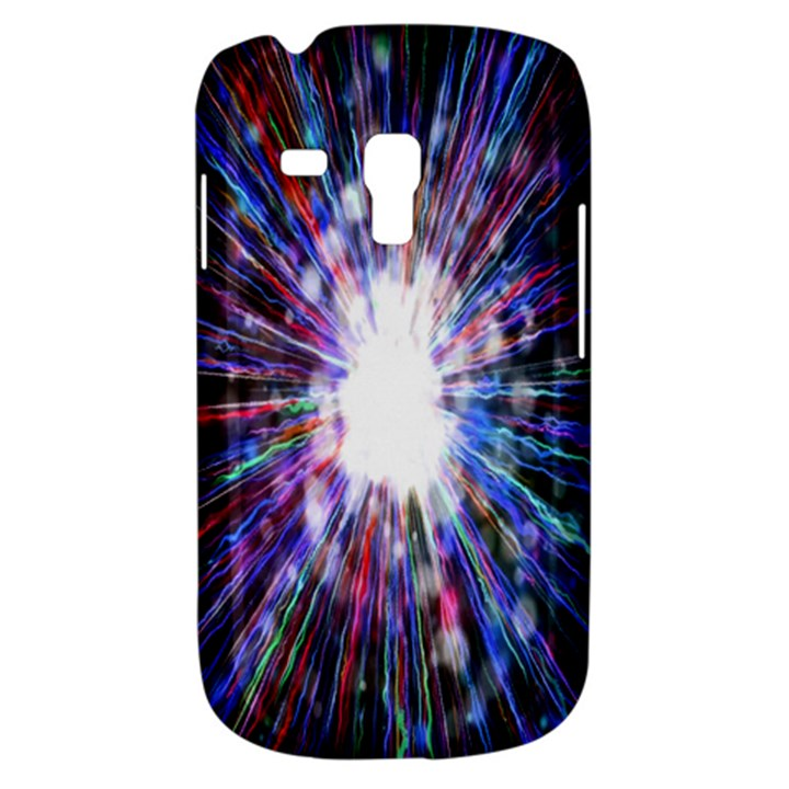 Seamless Animation Of Abstract Colorful Laser Light And Fireworks Rainbow Galaxy S3 Mini