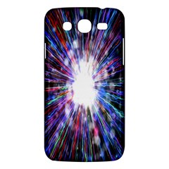 Seamless Animation Of Abstract Colorful Laser Light And Fireworks Rainbow Samsung Galaxy Mega 5 8 I9152 Hardshell Case