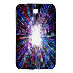 Seamless Animation Of Abstract Colorful Laser Light And Fireworks Rainbow Samsung Galaxy Tab 3 (7 ) P3200 Hardshell Case