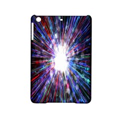 Seamless Animation Of Abstract Colorful Laser Light And Fireworks Rainbow Ipad Mini 2 Hardshell Cases