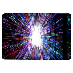 Seamless Animation Of Abstract Colorful Laser Light And Fireworks Rainbow Ipad Air Flip