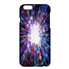 Seamless Animation Of Abstract Colorful Laser Light And Fireworks Rainbow Apple Iphone 6 Plus/6s Plus Hardshell Case