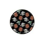 Pattern Halloween Werewolf Mummy Vampire iCreate Hat Clip Ball Marker (4 pack) Front