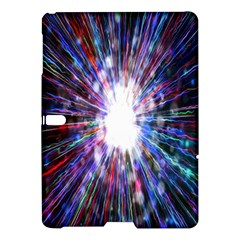 Seamless Animation Of Abstract Colorful Laser Light And Fireworks Rainbow Samsung Galaxy Tab S (10 5 ) Hardshell Case