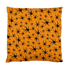 Pattern Halloween Black Spider Icreate Standard Cushion Case (one Side)