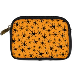 Pattern Halloween Black Spider Icreate Digital Camera Cases