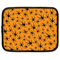 Pattern Halloween Black Spider Icreate Netbook Case (xl)