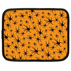 Pattern Halloween Black Spider Icreate Netbook Case (xxl)