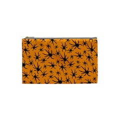 Pattern Halloween Black Spider Icreate Cosmetic Bag (small)