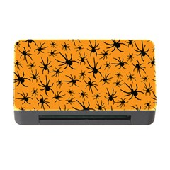 Pattern Halloween Black Spider Icreate Memory Card Reader With Cf
