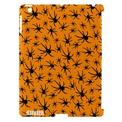 Pattern Halloween Black Spider Icreate Apple Ipad 3/4 Hardshell Case (compatible With Smart Cover)