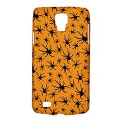 Pattern Halloween Black Spider Icreate Galaxy S4 Active