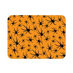 Pattern Halloween Black Spider Icreate Double Sided Flano Blanket (mini)