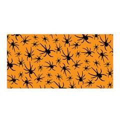 Pattern Halloween Black Spider Icreate Satin Wrap