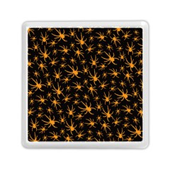 Halloween Spiders Memory Card Reader (square)