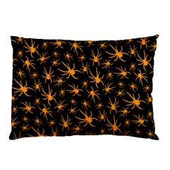 Halloween Spiders Pillow Case (two Sides)