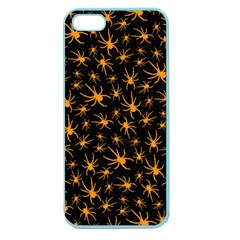 Halloween Spiders Apple Seamless Iphone 5 Case (color)