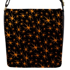 Halloween Spiders Flap Messenger Bag (s)
