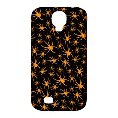 Halloween Spiders Samsung Galaxy S4 Classic Hardshell Case (pc+silicone)
