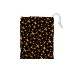 Halloween Spiders Drawstring Pouches (small)