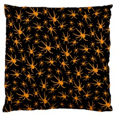 Halloween Spiders Standard Flano Cushion Case (one Side)