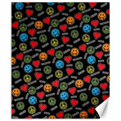 Pattern Halloween Peacelovevampires  Icreate Canvas 8  X 10