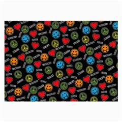 Pattern Halloween Peacelovevampires  Icreate Large Glasses Cloth