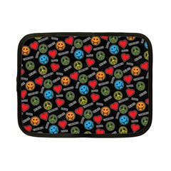 Pattern Halloween Peacelovevampires  Icreate Netbook Case (small)