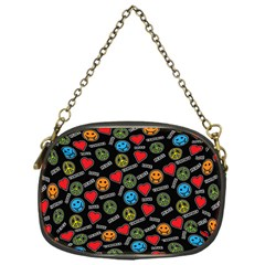 Pattern Halloween Peacelovevampires  Icreate Chain Purses (one Side)