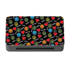 Pattern Halloween Peacelovevampires  Icreate Memory Card Reader With Cf