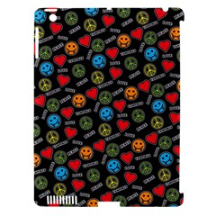 Pattern Halloween Peacelovevampires  Icreate Apple Ipad 3/4 Hardshell Case (compatible With Smart Cover)