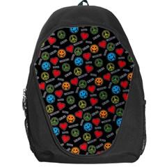Pattern Halloween Peacelovevampires  Icreate Backpack Bag