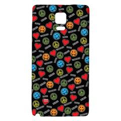Pattern Halloween Peacelovevampires  Icreate Galaxy Note 4 Back Case