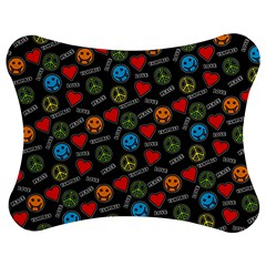 Pattern Halloween Peacelovevampires  Icreate Jigsaw Puzzle Photo Stand (bow)