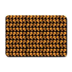Halloween Color Skull Heads Small Doormat