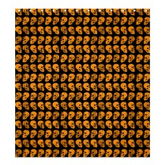 Halloween Color Skull Heads Shower Curtain 66  X 72  (large)