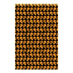 Halloween Color Skull Heads Shower Curtain 48  X 72  (small)