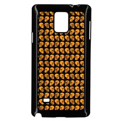 Halloween Color Skull Heads Samsung Galaxy Note 4 Case (black)
