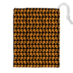 Halloween Color Skull Heads Drawstring Pouches (xxl)