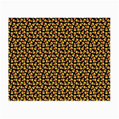 Pattern Halloween Candy Corn   Small Glasses Cloth (2 Side)