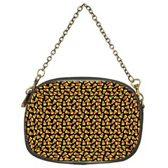 Pattern Halloween Candy Corn   Chain Purses (one Side)