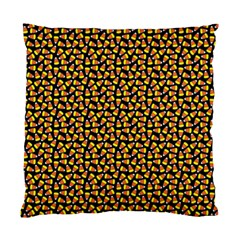 Pattern Halloween Candy Corn   Standard Cushion Case (two Sides)