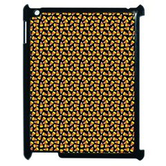 Pattern Halloween Candy Corn   Apple Ipad 2 Case (black)