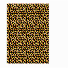Pattern Halloween Candy Corn   Large Garden Flag (two Sides)