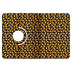 Pattern Halloween Candy Corn   Kindle Fire Hdx Flip 360 Case