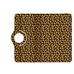 Pattern Halloween Candy Corn   Kindle Fire Hdx 8 9  Flip 360 Case
