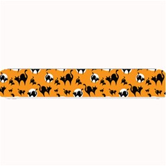 Pattern Halloween Black Cat Hissing Small Bar Mats
